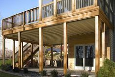 Deck Over Screened Porch Screened Patio Pinterest