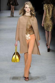 Rochas Fall 2010 Ready-to-Wear Fashion Show - Kamila Filipcikova