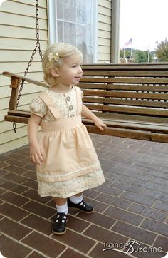 Damsel in Dirndl - Frances SuzanneFrances Suzanne Fall Sewing, Holiday Wear, Bavaria, Beautiful People, Diy And Crafts, Flower Girl Dresses, France, Wedding Dresses, Baby