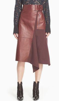 Leather Asymmetrical Skirt | 3.1 Philip Lim