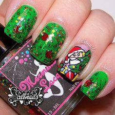 christmas by cdbnails143 #nail #nails #nailart