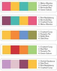 Stampin' Up! Colour Combination Ideas