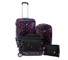 Heys Luggage Set -- Purple Leopard!!!