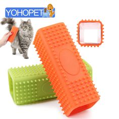 cat hair removal rubber bath brush cat comb
