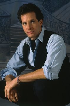 Steve Guttenberg in 'Cocoon', 1985 - Directed by Ron Howard. Hollywood Actor, Hollywood Stars, Steve Guttenberg, Artist Film, Romantic Men, Police Academy, John Travolta, Movie Photo, Old Movies