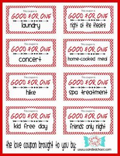 sex coupon template - 30 valentine 39 s day cards that put the funny in sexy