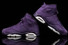 The Air Jordan 6 GS Purple Dynasty Closes Out 2016
