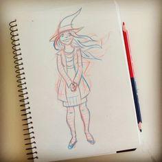 #sketches #sketchbook #sketcheveryday #sketchbook #sketching #characterdesign