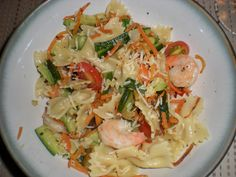 Pasta Primavera with Shrimp   This recipe is simple and easy to make! You can always add or swap out ...