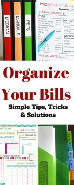 OrganizingYour Bills | Tips and Tricks to Keep You on Track