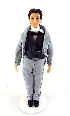 Dolls House Miniature 1:12 People Victorian Gentleman Groom Man Edward Clark | #540510477