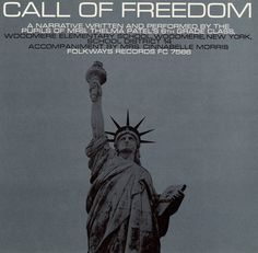 Smithsonian Folkways - Call of Freedom - Cover by Ronald Clyne