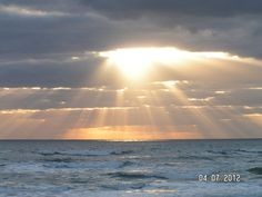Easter Sunrise, New Smyrna Beach Florida 2012