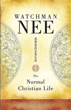 watchman nee! I am reading this one! Its a must read!