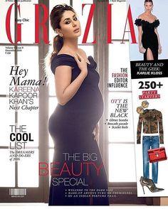 cover of @graziaindia december 2016 issue.