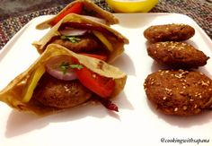 Falafel is deep fried patty of chickpea or fava beans , a traditional Arabic food ands usually served in Pita Pockets. Now a day falafel became a common form of street food/ fast food in the Middle… Pita Pockets, Fava Beans, Pita Bread, Arabic Food, Iftar, Falafel, Street Food, Middle, Beef