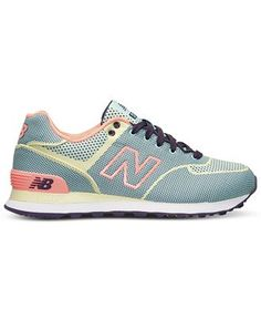 New Balance Women's 574 Woven Casual Sneakers from Finish Line - Finish Line Athletic Shoes - Shoes - Macy's