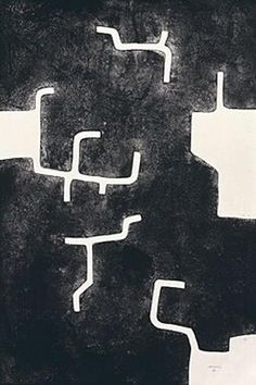 "CHILLIDA ""Homenaje a Aimé Maeght 1988 160x106 CM."