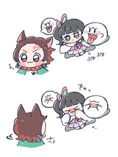 Read Kimetsu No Yaiba / Demon slayer full Manga chapters in English online! M Anime, Anime Angel, Anime Demon, Otaku Anime, Anime Art Girl, Anime Chibi, Kawaii Chibi, Cute Chibi, Kawaii Anime