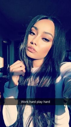 Leigh-Anne is so gorgeous and she is perfect Jesy Nelson, Perrie Edwards, Little Mix Leigh Ann, Meninas Do Little Mix, Snapchat, Little Mix Girls, Litte Mix, Rapper, Jimin