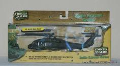 Forces of Valor 1:72 Battle Extreme Diecast U.S. UH60 BLACK HAWK Helicopter NIB #FORCESOFVALOR