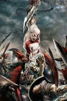 god of war wallpaper iphone Gods Of War, God Of War Game, Kratos God Of War, Video Game Art, Video Games, King's Quest, Game Character, Character Design, The Villain