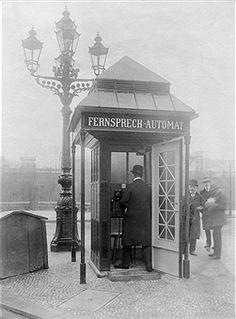 Telephonzelle Berlin-Schoeneberg (1912)