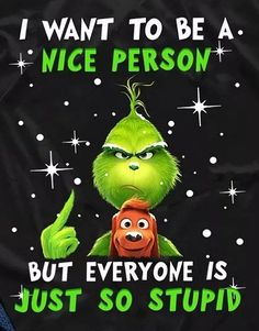 Grinch Christmas Decorations, Grinch Christmas Party, Christmas Jokes, Funny Christmas Sweaters, Xmas, Le Grinch, Grinch Stuff, Silly Jokes, Jokes For Kids