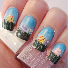nailsbyic easter #nail #nails #nailart
