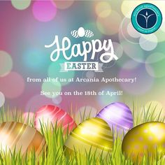 #HappyEaster from the #Arcania Team! Have a wonderful break & don't eat too much #Chocolate 😝 #BankHoliday #Easter