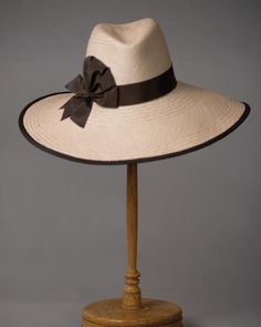 LOUISE GREEN Millinery – great wide brimmed fedora #millinery #judithm #hats