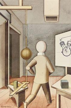 George Grosz - The New Man 1921
