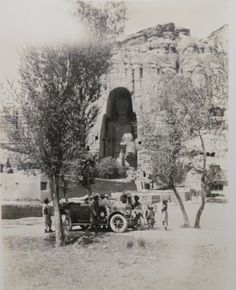 History on the Silk Road - Photos from Bamiyan from around 1926