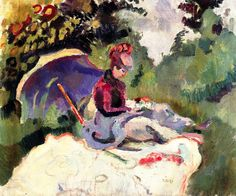 bofransson:  After LunchRaoul Dufy - circa 1905-1906