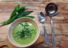 Glutén-, tej- és tojásmentes medvehagyma krémleves | Jakab-Katz Klaudia receptjeCookpad receptek