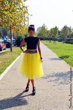Yellow Tulle Skirt, Adult Tutu, Women Tulle Skirt, Adult Tulle Skirt, Engagment Tulle Skirt, Bridemaid Skirt, Knee Skirt, Ballet Tulle Skirt Tutu Women, Bridesmaid Skirts, Adult Tutu, Tulle Skirts, Hot Pink, Midi Skirt, High Waisted Skirt, Ballet, Yellow
