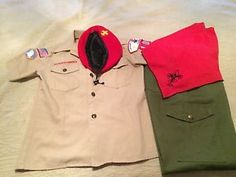 Vintage Boy Scout Uniform 1970s | eBay