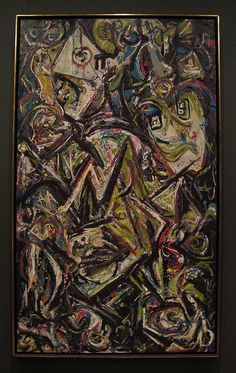 Jackson Pollock, Troubled Queen,