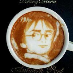 ¡¡Soy Harry Potter!!...Ahora toca bebérselo y disfrutar de un buen #cafe.