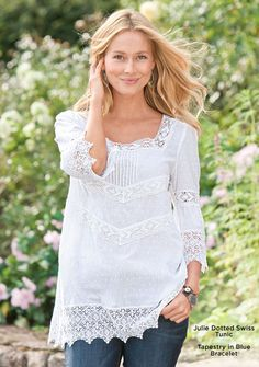 Lace- from the Sundance Catalog.