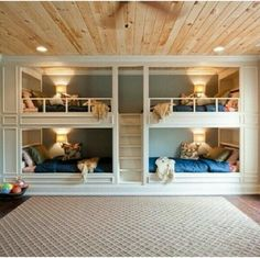 Boys Bunk Room - Design photos, ideas and inspiration. Amazing gallery of interior design and decorating ideas of Boys Bunk Room in bedrooms, boy's rooms by elite interior designers. Kids Bedroom Furniture, Cool Kids Rooms, Bedroom Design, House Design, Loft Bed, Bed, Loft Spaces, Bunk Beds Built In, Room Design