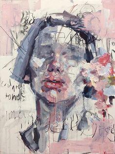 Pink - woman - self -portrait - Elly Smallwood - painting Inspiration Art, Art Inspo, Elly Smallwood, Abstract Portrait Painting, Abstract Faces, Abstract Art, Abstract Landscape, Modern Portraits, Modern Portrait Artists