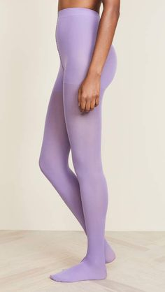 775bc5b88f4 Matte Solid Tights  Footed toe Shell Colored Tights