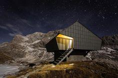 Alpine Shelter 'Bivak na Prehodavcih' located in Triglav National Park - CAANdesign | Architecture and home design blog