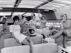 Lovely 1960s stewardesses #sixties #panam