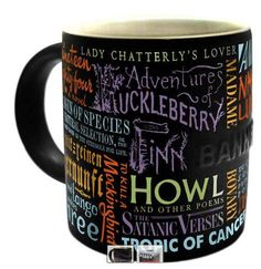 Fun & inspiring literary gifts for book lovers that aren't books. Discover the best bookish gifts & thoughtful gift ideas for readers of all types & ages. I Love Books, Good Books, Big Books, Reading Books, Mode Sombre, Best Coffee Mugs, Coffee Cups, Tea Cups, Coffee Coffee