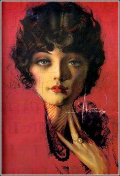 Rolf Armstrong Pin-Up artist Rolf Armstrong, Pinup Art, Art Beat, Look Vintage, Vintage Art, Vintage Beauty, Vintage Pins, Art Deco Artwork, Fantasy Artwork