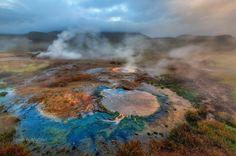 Iceland Geyseres