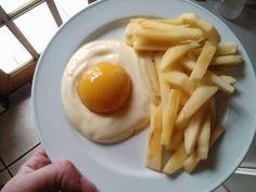 Nice try... Joghurt, Pfirsich und Apfelstreifen