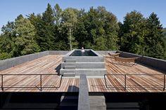 Kastanienbaum Twin Houses by: Lussi + Halter Partner AGArchitecture, Lucerne, Switzerland